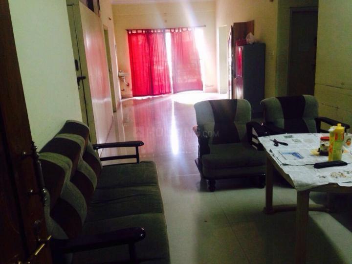 ब्रुकफील्ड में मनसा पीजी में लिविंग रूम की तस्वीर