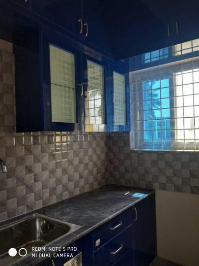 Kitchen Image of 600 Sq.ft 1 BHK Apartment for rent in Mahadevapura for 15000