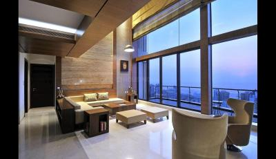 Gallery Cover Image of 3712 Sq.ft 4 BHK Apartment for rent in Kalpataru Horizon, Worli for 825000