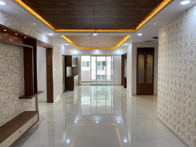 Gallery Cover Image of 1860 Sq.ft 3 BHK Apartment for rent in Ramky One Galaxia Phase II, Nallagandla for 34000