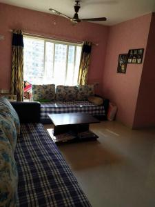 Gallery Cover Image of 1000 Sq.ft 2 BHK Apartment for rent in Bhakti Park, Kasarvadavali, Thane West for 24999