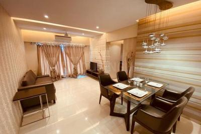 Gallery Cover Image of 686 Sq.ft 1 BHK Apartment for buy in Squarefeet Metropolis Rivera, Kasarvadavali, Thane West for 6000000