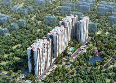 Gallery Cover Image of 867 Sq.ft 2 BHK Apartment for buy in Perungudi for 7500000