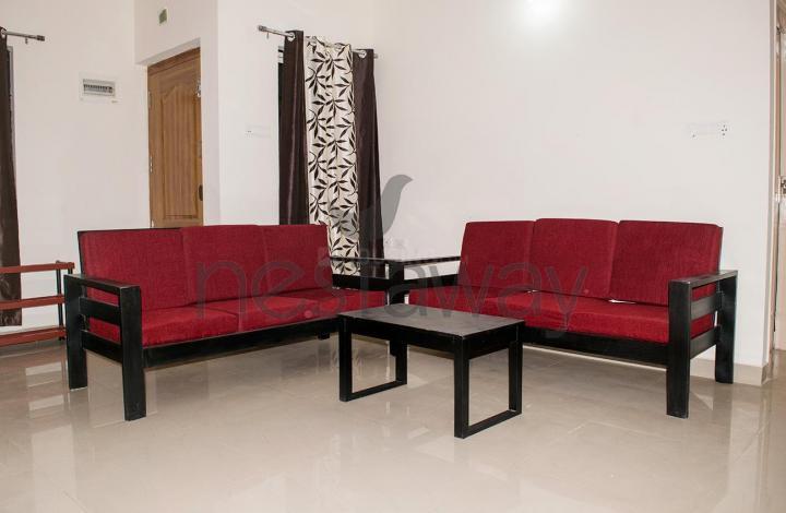 पीजी 4642719 मराठाहल्लि इन मराठाहल्लि के लिविंग रूम की तस्वीर