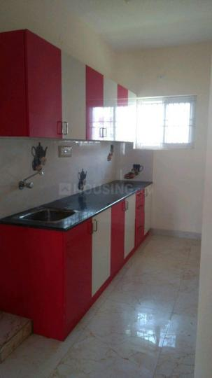 Kitchen Image of 1000 Sq.ft 2 BHK Independent House for rent in Jakkur for 10000