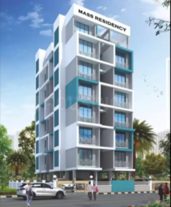Gallery Cover Image of 370 Sq.ft 1 BHK Apartment for buy in Mass Residency, Kamothe for 4600000