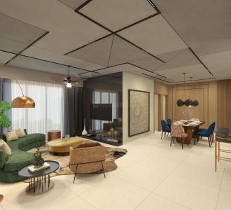 Gallery Cover Image of 2241 Sq.ft 3 BHK Apartment for buy in Puravankara Purva Atmosphere, R.K. Hegde Nagar for 19000000