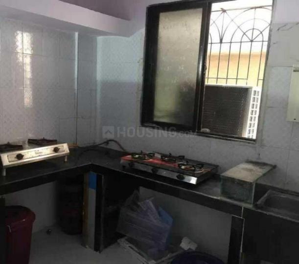 ऐरोली में करेवेल पीजी में किचन की तस्वीर