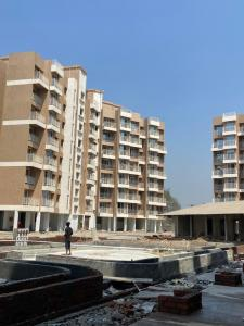 Gallery Cover Image of 523 Sq.ft 1 BHK Apartment for buy in  Commanders Heera Siddhi Homes, Rasayani for 2513000