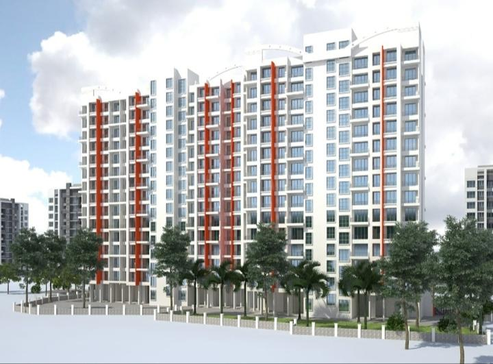 Building Image of 1002 Sq.ft 3 BHK Apartment for buy in Om Vasant Vatika, Kalyan East for 5500000