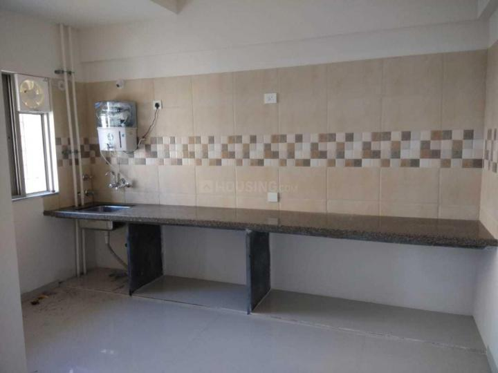 Kitchen Image of 600 Sq.ft 1 BHK Apartment for rent in Dhankawadi for 10500