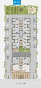 Gallery Cover Image of 1170 Sq.ft 2 BHK Apartment for buy in Prerna Happy Heights, Ghuma for 4000000