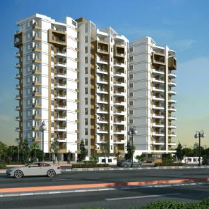 Gallery Cover Image of 1157 Sq.ft 2 BHK Apartment for buy in Royal Tatvam, Sunder Nagar for 3702400
