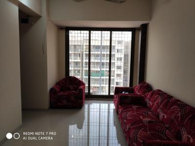 Gallery Cover Image of 650 Sq.ft 1 BHK Apartment for rent in Mangalmurti Mauli Heights, Ghansoli for 15500