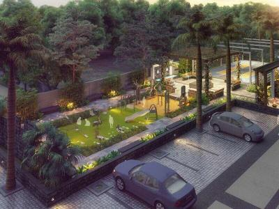 Gallery Cover Image of 950 Sq.ft 2 BHK Apartment for buy in Mangalam Breeze, Alandi for 3950000