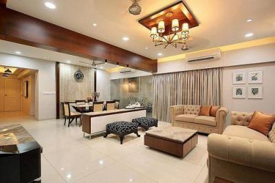 Gallery Cover Image of 3000 Sq.ft 4 BHK Apartment for buy in Kesar Group Exotica Phase I Basement Plus Ground Plus Upper 14 Floors, Kharghar for 28500000