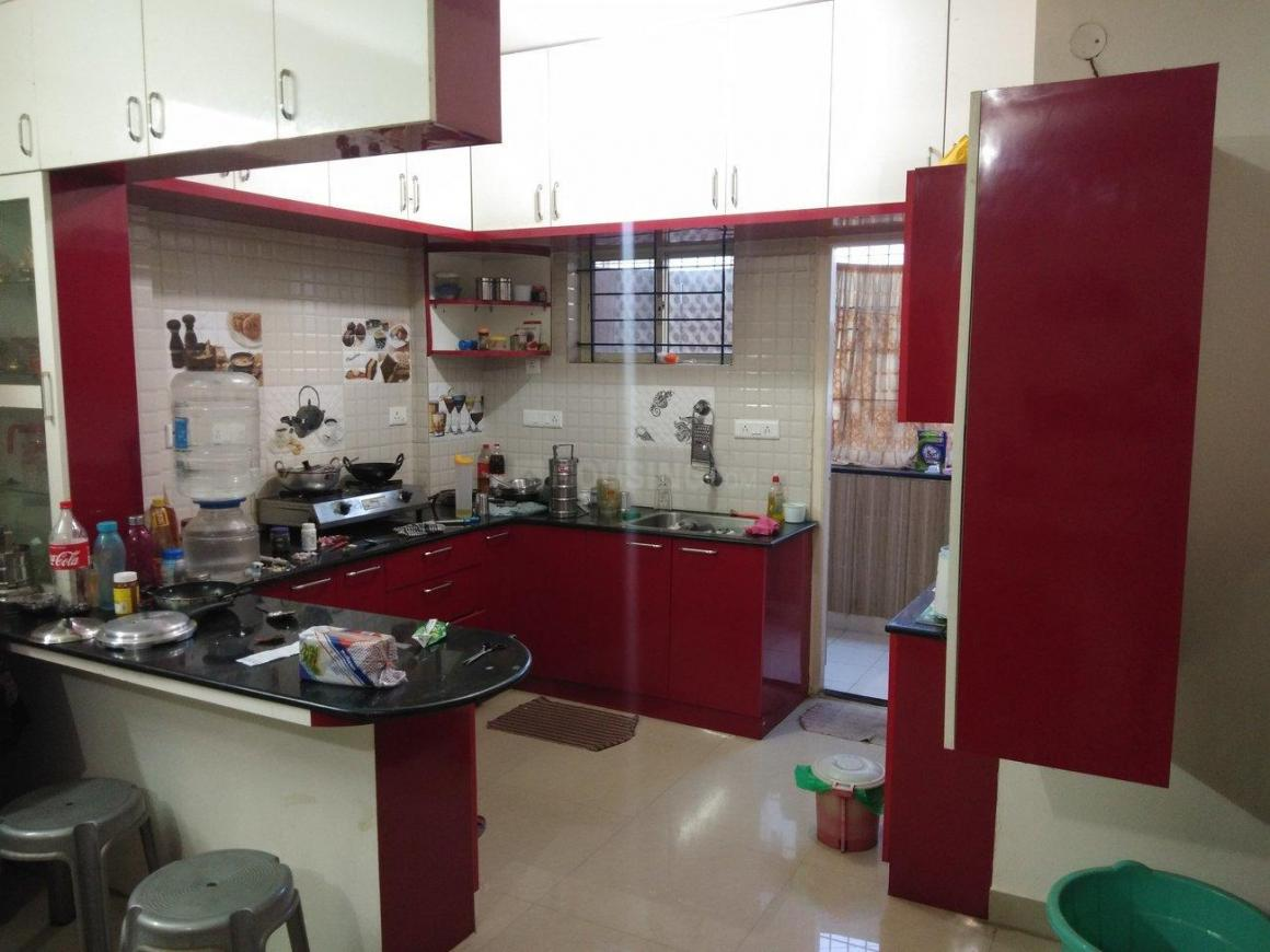 Kitchen Image of 1130 Sq.ft 2 BHK Apartment for buy in Nagavara for 8000000