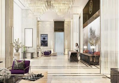 Gallery Cover Image of 2110 Sq.ft 3 BHK Apartment for buy in Land L and T Cresent Bay, Parel for 73000000