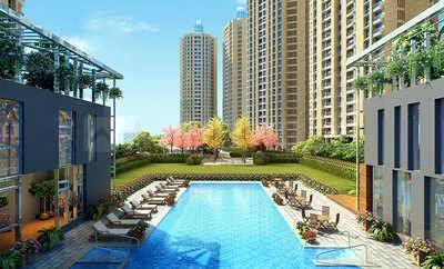 Gallery Cover Image of 790 Sq.ft 2 BHK Apartment for buy in Orovia Phase 1, Thane West for 12800000