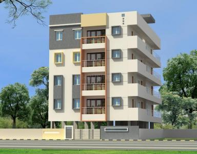 Gallery Cover Image of 1200 Sq.ft 3 BHK Apartment for buy in Medini Residency, RR Nagar for 6500000