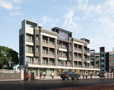 Gallery Cover Image of 650 Sq.ft 1 BHK Apartment for buy in Shelu for 1600000