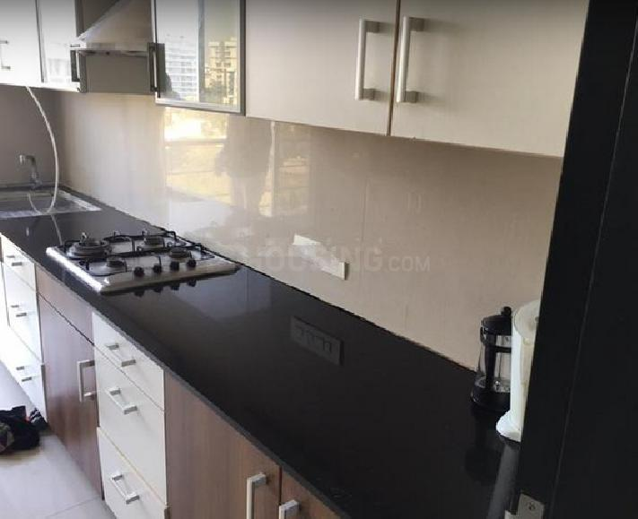 Kitchen Image of 2500 Sq.ft 3 BHK Apartment for rent in Juhu for 225000