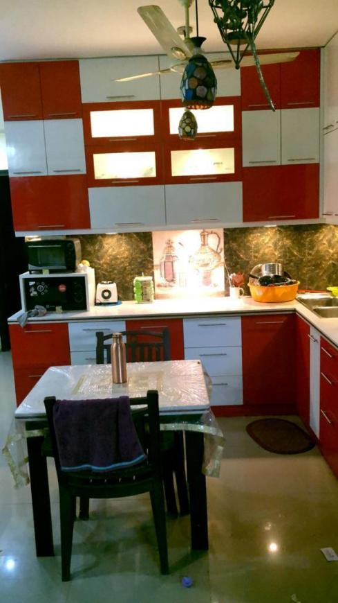 Kitchen Image of 1675 Sq.ft 3 BHK Apartment for rent in Sector 137 for 30000