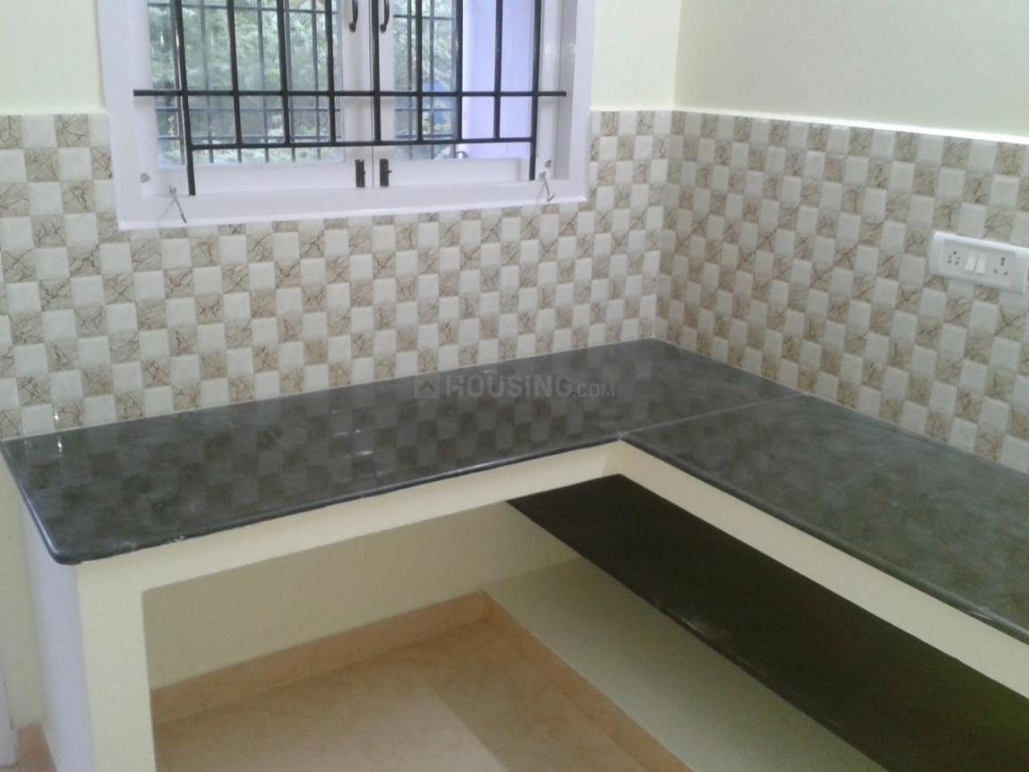 Kitchen Image of 1155 Sq.ft 3 BHK Independent Floor for buy in Maraimalai Nagar for 4200000