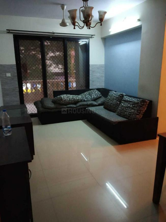 Living Room Image of 615 Sq.ft 1 BHK Independent House for rent in Kandivali East for 28000