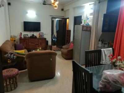 Gallery Cover Image of 1075 Sq.ft 2 BHK Apartment for rent in Crossings Republik for 12000