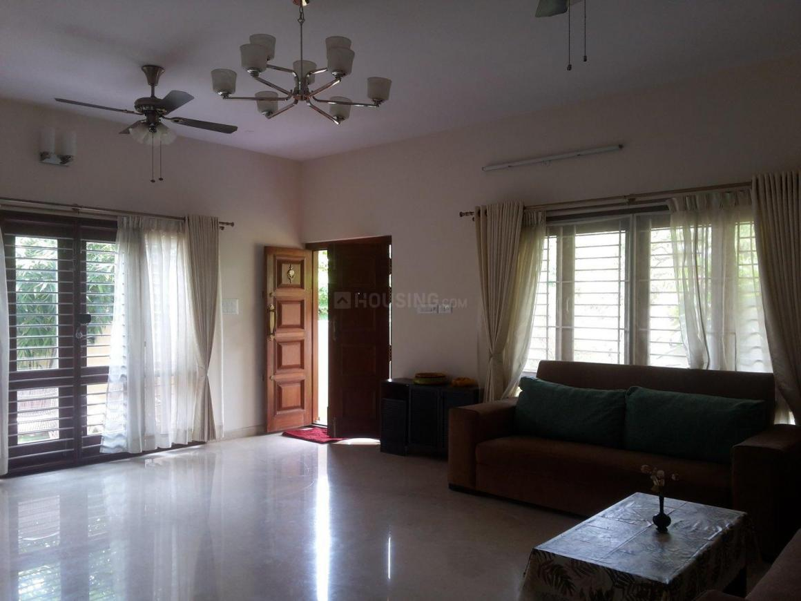 Living Room One Image of 3600 Sq.ft 4 BHK Villa for rent in Harlur for 80000
