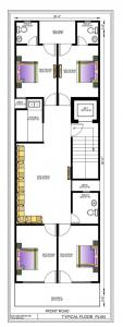 Gallery Cover Image of 1550 Sq.ft 4 BHK Independent Floor for buy in Sanjay Sambhav Homes, Dashrath Puri for 8500000