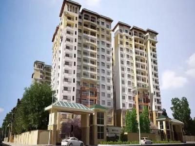 Gallery Cover Image of 2063 Sq.ft 3 BHK Apartment for rent in Prestige Jade Pavilion, Bhoganhalli for 55000