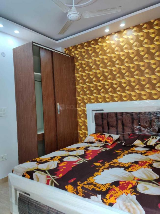 Bedroom Image of 648 Sq.ft 2 BHK Independent Floor for rent in Sector 19 Dwarka for 26000
