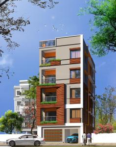 Gallery Cover Image of 1100 Sq.ft 2 BHK Apartment for buy in Rajarhat for 4800000
