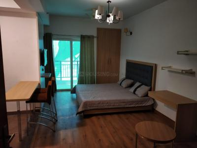 Gallery Cover Image of 680 Sq.ft 1 RK Apartment for rent in Nimbus The Golden Palms, Sector 168 for 15000