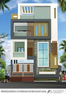 Gallery Cover Image of 4500 Sq.ft 5 BHK Independent House for buy in Attapur for 19500000