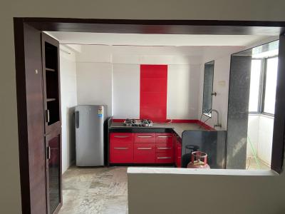Kitchen Image of 1170 Sq.ft 2 BHK Apartment for buy in Bodakdev for 5800000