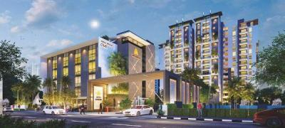 Gallery Cover Image of 1915 Sq.ft 3 BHK Apartment for buy in Sri Aditya Athena, Shaikpet for 13405000