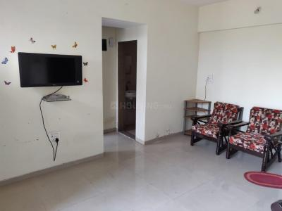 Gallery Cover Image of 552 Sq.ft 1 BHK Apartment for rent in Kasarvadavali, Thane West for 12000