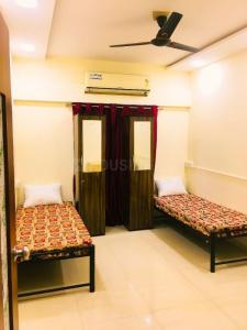 Bedroom Image of Ac/non Ac PG Stay: The Ashoka Nilyam in Kopar Khairane