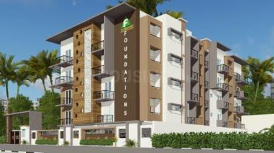 Gallery Cover Image of 1097 Sq.ft 2 BHK Apartment for buy in Foundations Dhiya, Somanatha Nagar for 4936000