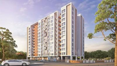 Gallery Cover Image of 980 Sq.ft 2 BHK Apartment for buy in Mont Vert Sonnet, Tathawade for 5100000