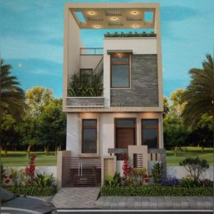 Gallery Cover Image of 479 Sq.ft 3 BHK Villa for buy in Bagru Khurd for 2700000