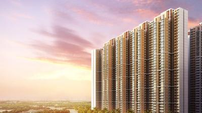 Gallery Cover Image of 750 Sq.ft 2 BHK Apartment for buy in Marathon Nexzone Zenith 1, Panvel for 7500000