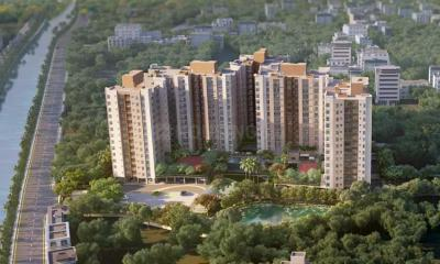 Gallery Cover Image of 896 Sq.ft 2 BHK Apartment for buy in Suncrest Estate, Rajpur for 3400000