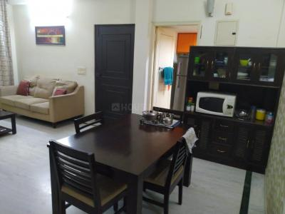 Gallery Cover Image of 1650 Sq.ft 3 BHK Independent Floor for rent in Unitech South City II, Sector 49 for 35000
