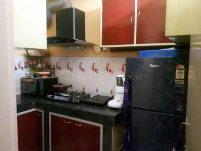 Kitchen Image of 1000 Sq.ft 2 BHK Independent Floor for buy in Chinar Park for 4500000