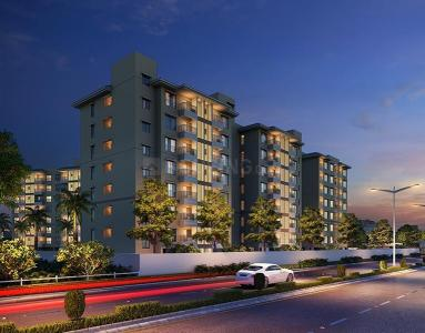 Gallery Cover Image of 1079 Sq.ft 2 BHK Apartment for buy in Mahindra World City for 4532879