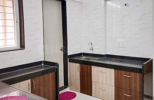 Kitchen Image of Royal Hills Flat No 302 in Bavdhan